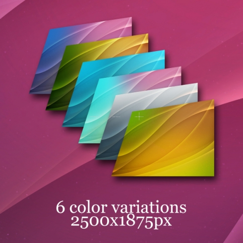 Template Image for Wavy Photoshop Backgrounds - 30008