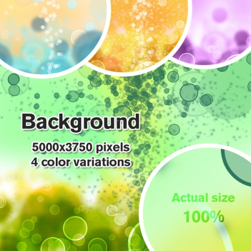 Template Image for Bubble Backgrounds - 30015