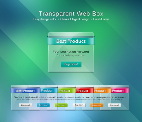 Template Image for Transparency Web Dialog Boxes - 30103