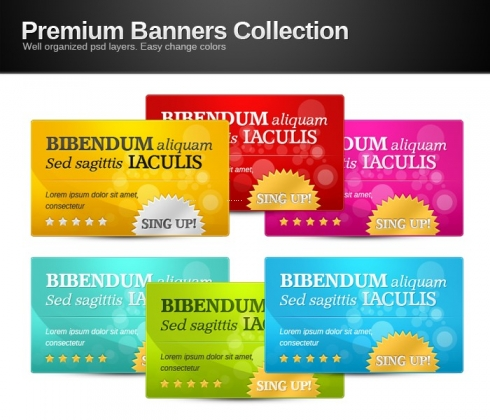 Template Image for Premium Web Banners Collection - 30297