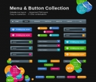 Image for Image for Bight Web Button & Menu Collection - 30028
