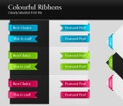 Image for Image for Colorful Ribbons - 30042