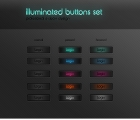 Image for Image for Illuminated Buttons Set - 30078