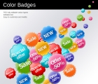 Image for Image for Bubbly Badges - 30081