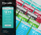 Image for Image for Glassy Price Tables - 30085