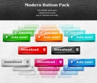 Image for Image for Bevelled Buttons Pack - 30086