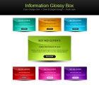 Image for Image for Glossy Information Boxes - 30105