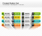 Image for Image for Frosted Button Set - 30153