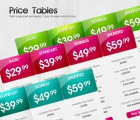Image for Image for Glossy Price Tables - 30164