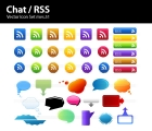 Image for Image for Chat & RSS Icons - 30249
