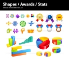 Image for Image for Shapes, Awards & Statistics Icons - 30251
