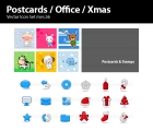Image for Image for Postcards, Office & Xmas Vectors - 30254