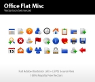 Image for Image for Flat Office Icons Misc - 30258