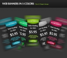 Image for Image for Dark Advertisement Web Banners - 30279