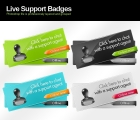 Image for Image for Live Support Badge Buttons - 30306