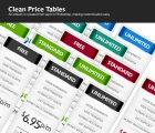 Image for Image for Clean Price Tables - 30372
