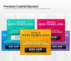 Image for Image for Colorful Banners - 30388