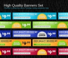 Image for Image for Advertisement Banners Set - 30393