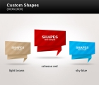 Image for Image for Custom Shapes Vector - 30476