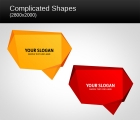 Image for Image for Complicated Shapes Vector - 30482
