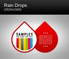 Image for Image for Raindrops Background - 30522
