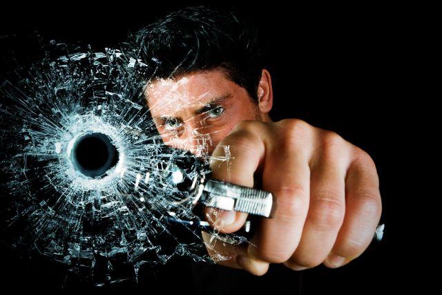 How to create gunshot effect in photoshop