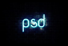 Learn how to create Neon Text in Photoshop | psdstation com