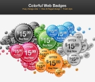 Image for Image for Indented Web Badges - 30163