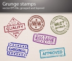 Image for Image for Grunge Stamp Vectors - 30168