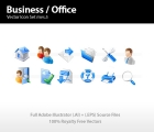 Image for Image for Business & Office Icon Set - 30203