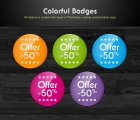 Image for Image for Color Badges - 30378